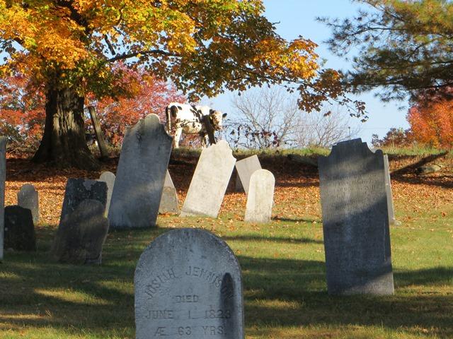 An old cemetery in Peacham, Vermont