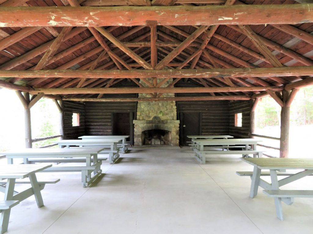 Pavilion at New Discovery Campground