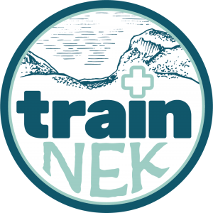 Logo for Train NEK, school for wilderness emergency medicine